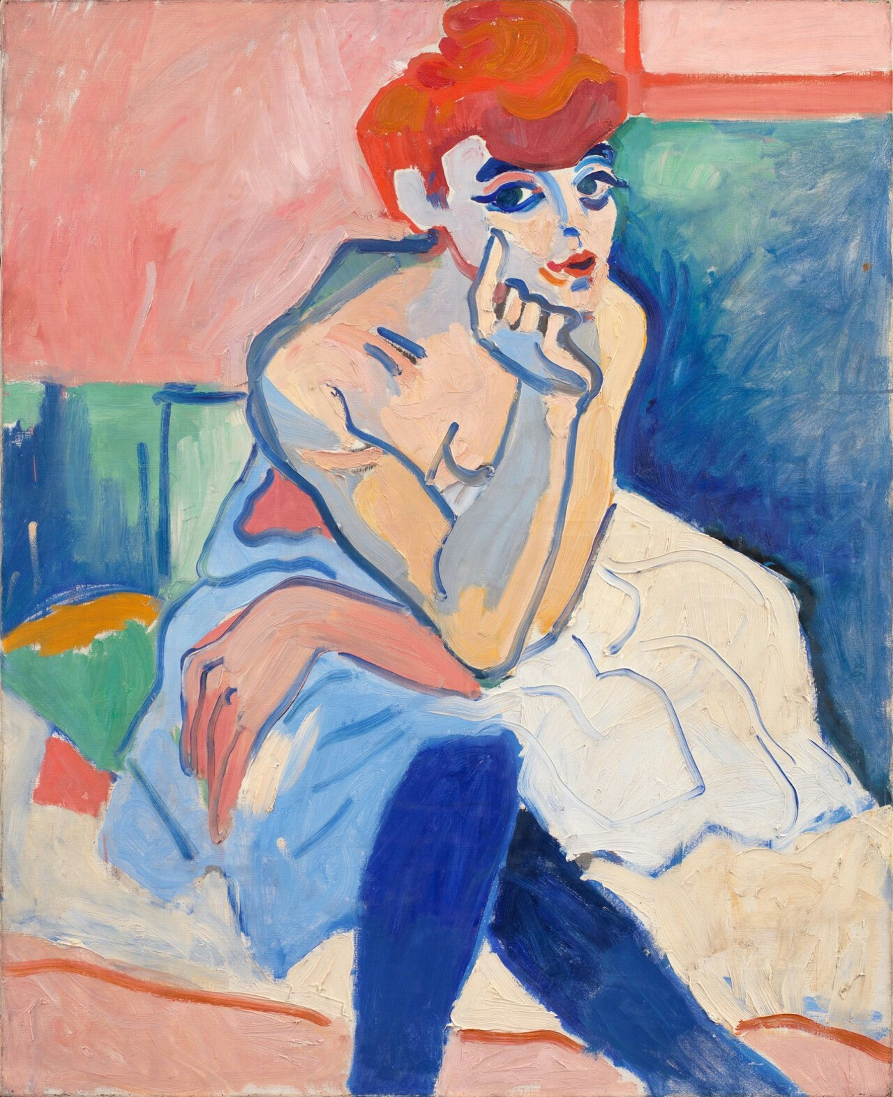Woman in a Chemise, 1906 — André Derain,
