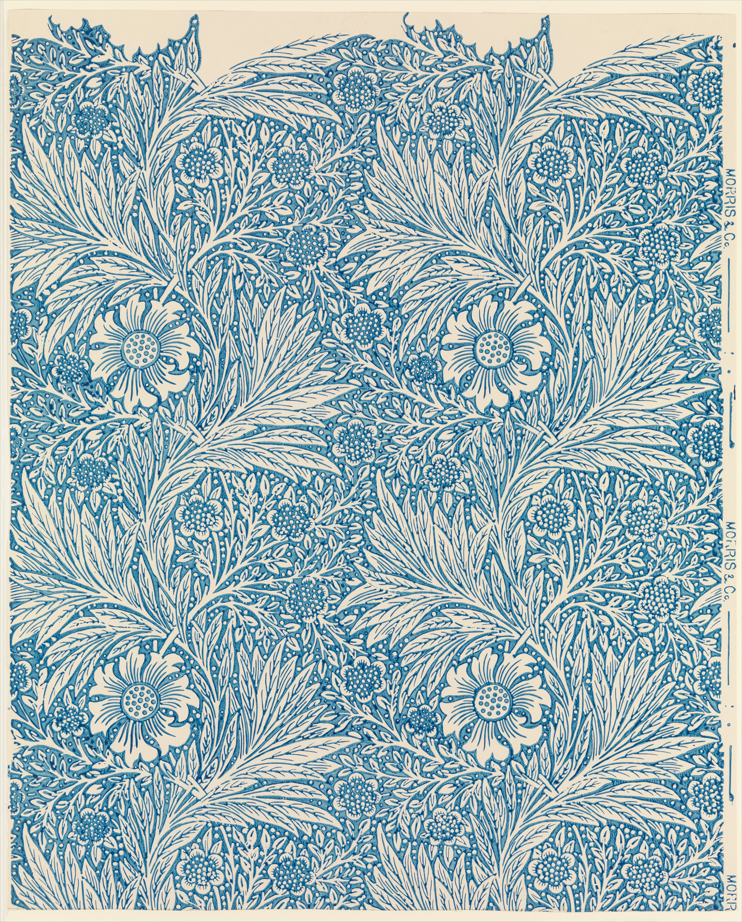 Marigold, 1875 — William Morris,