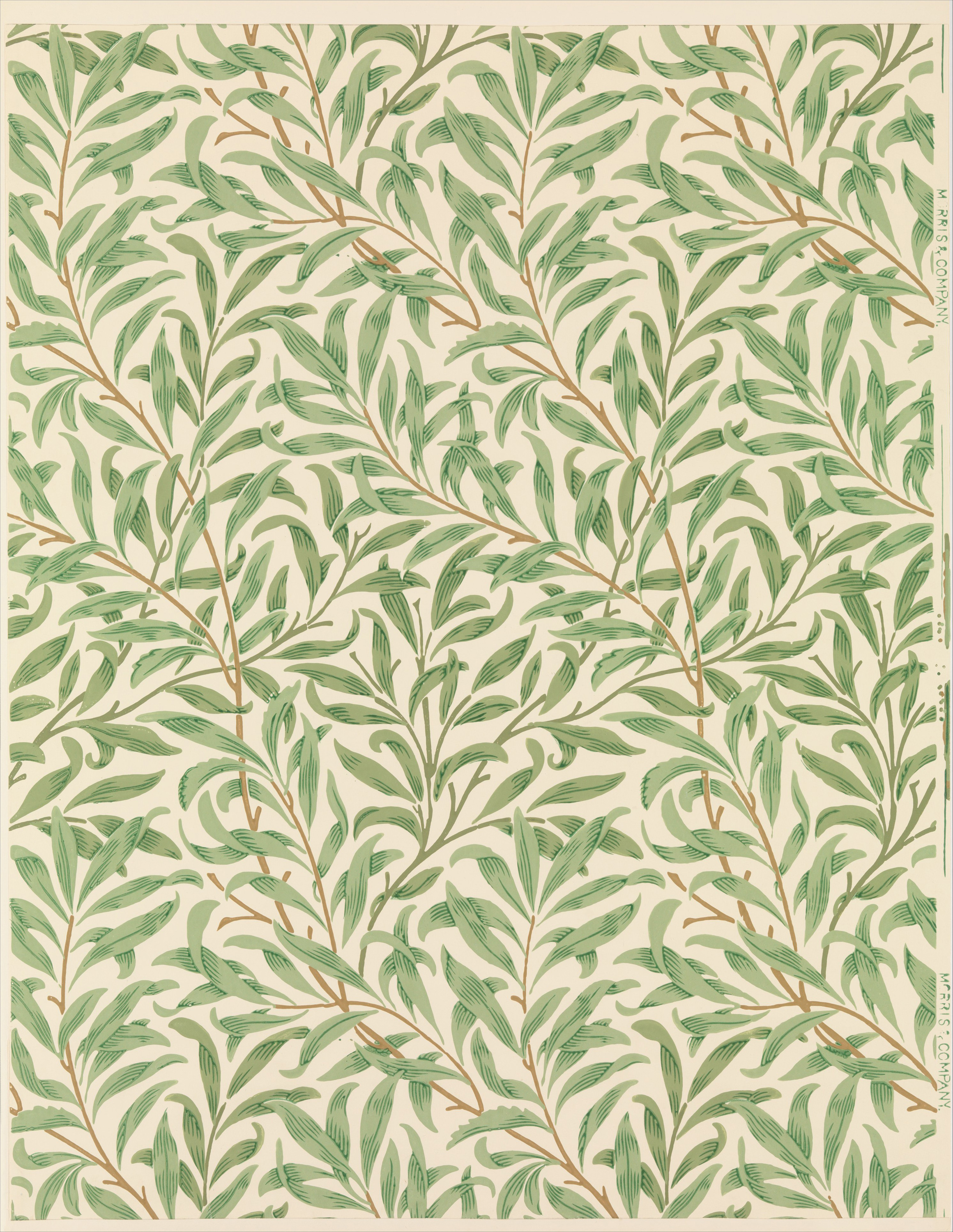 Willow Bough By William Morris Trivium Art History