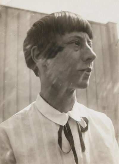Portrait of Hannah Höch