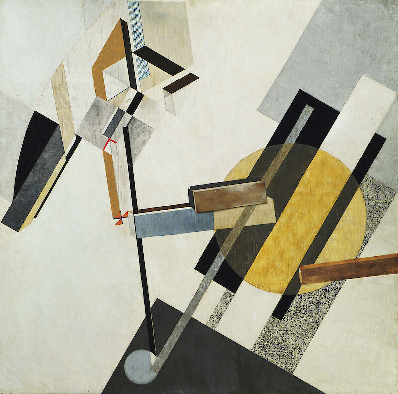 Portrait of El Lissitzky
