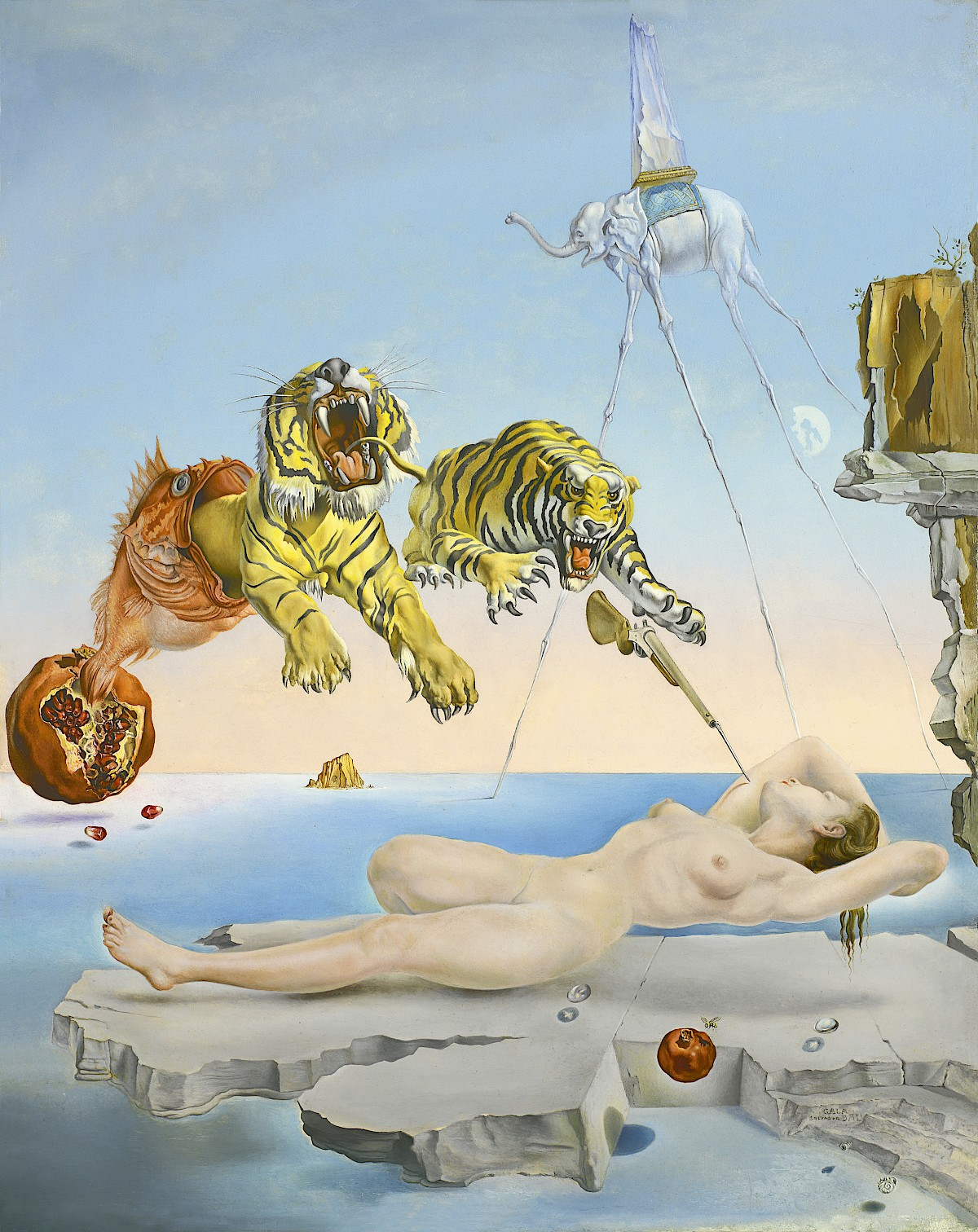 famous surrealism art paintings
