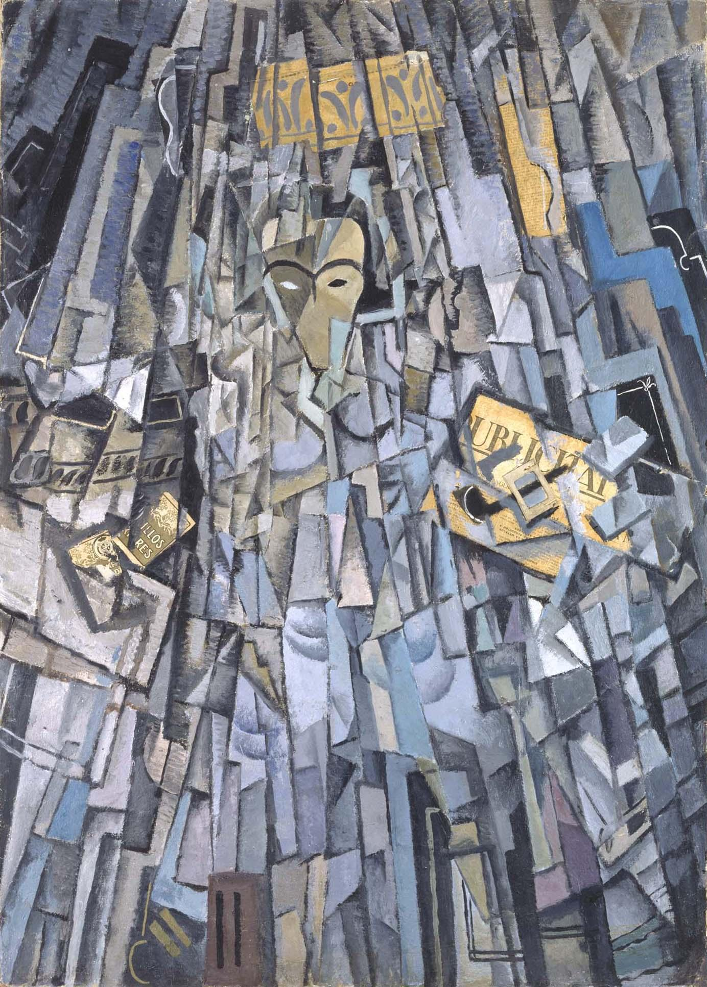 Cubist Self-Portrait, 1923 — Salvador Dalí