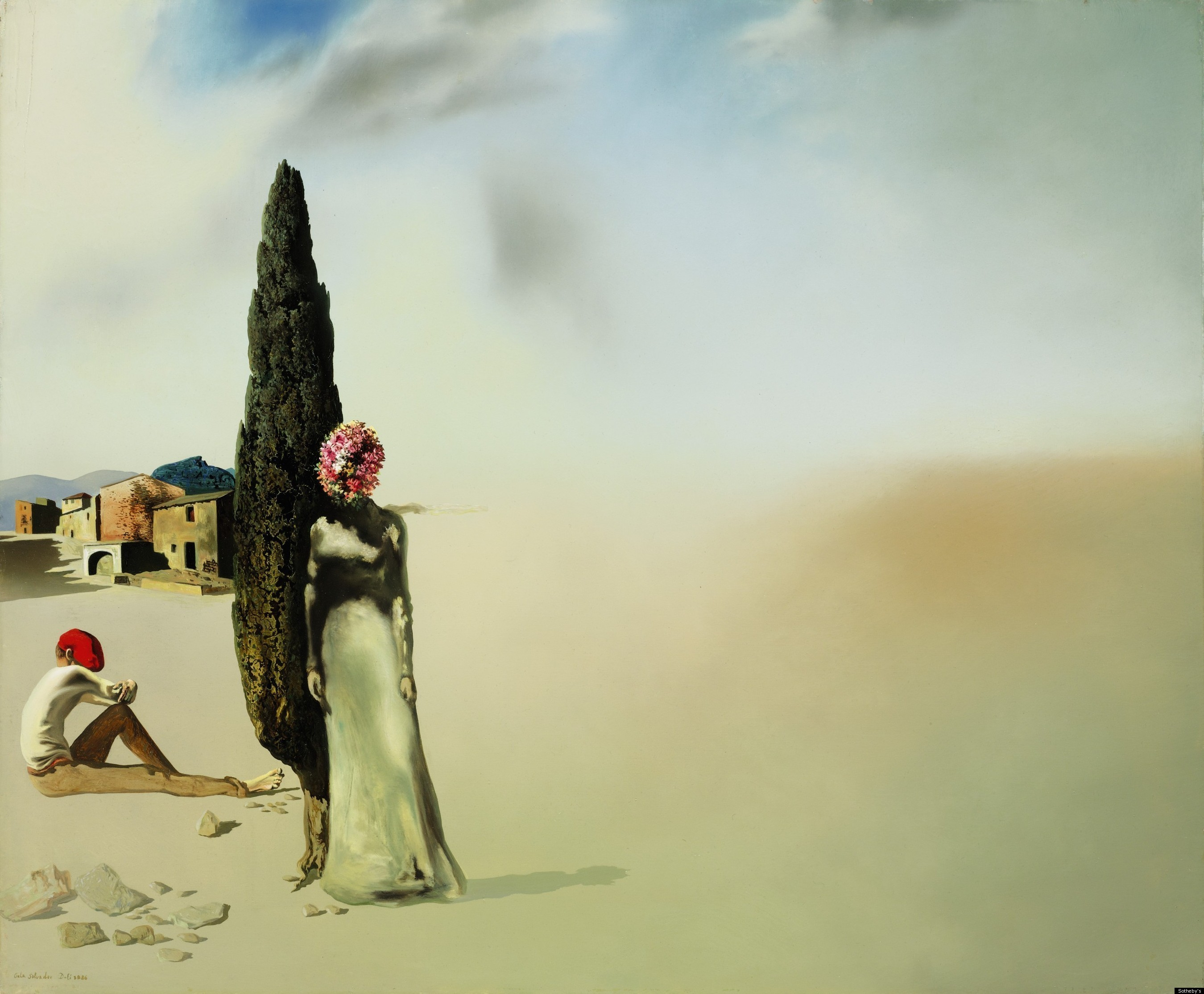 Printemps Nécrophilique, 1936 — Salvador Dalí