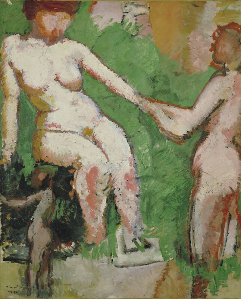 Two Nudes, 1910, Marcel Duchamp