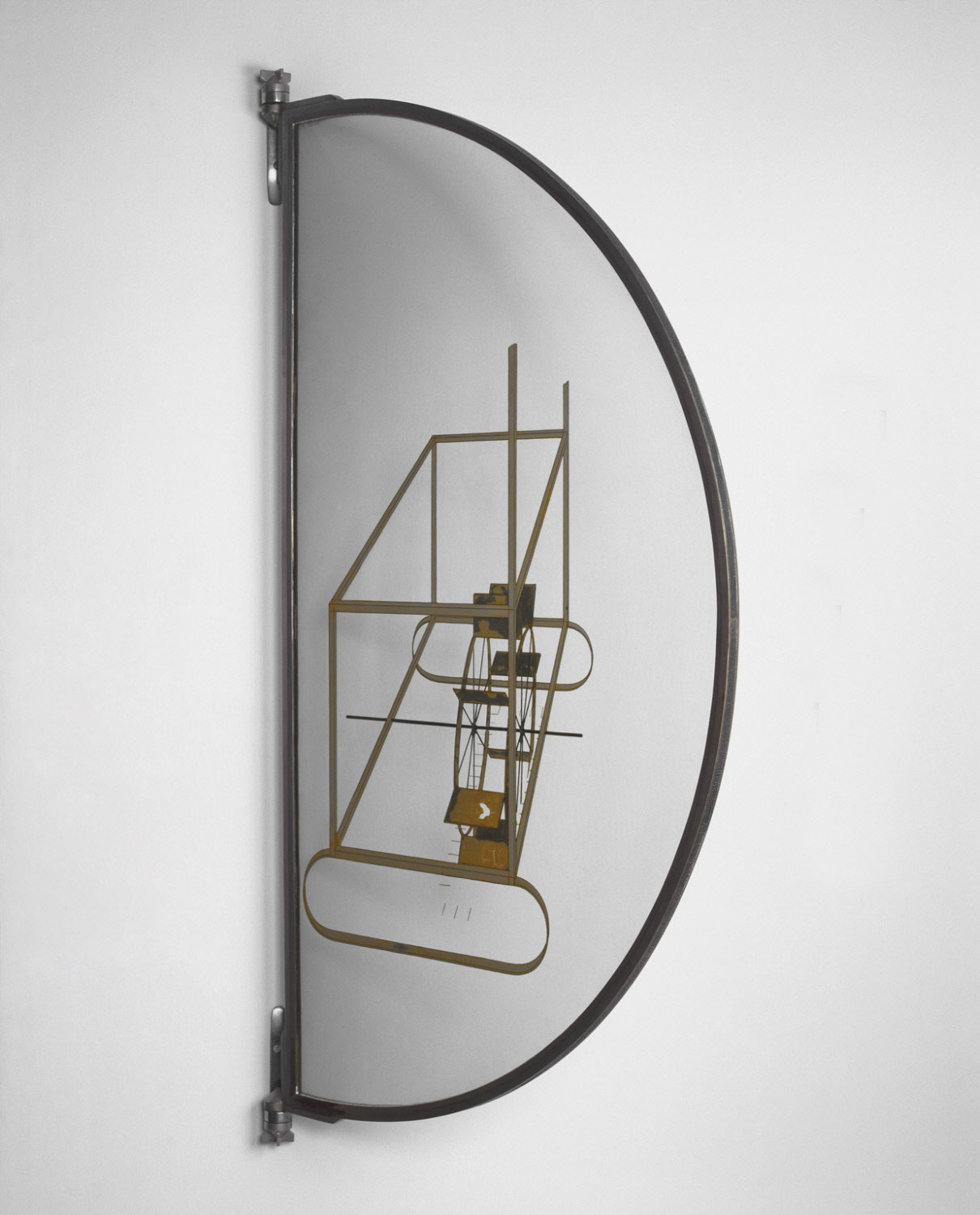 Glider Containing a Water Mill in Neighboring Metals, 1915 — Marcel Duchamp