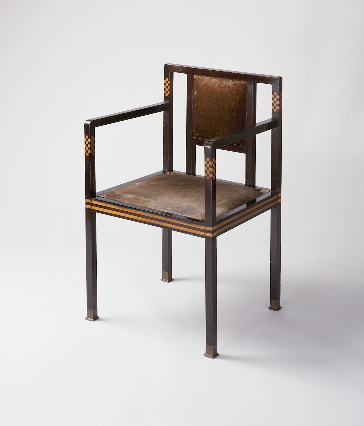 'The Rich Catch of Fish' Armchair by Koloman Moser