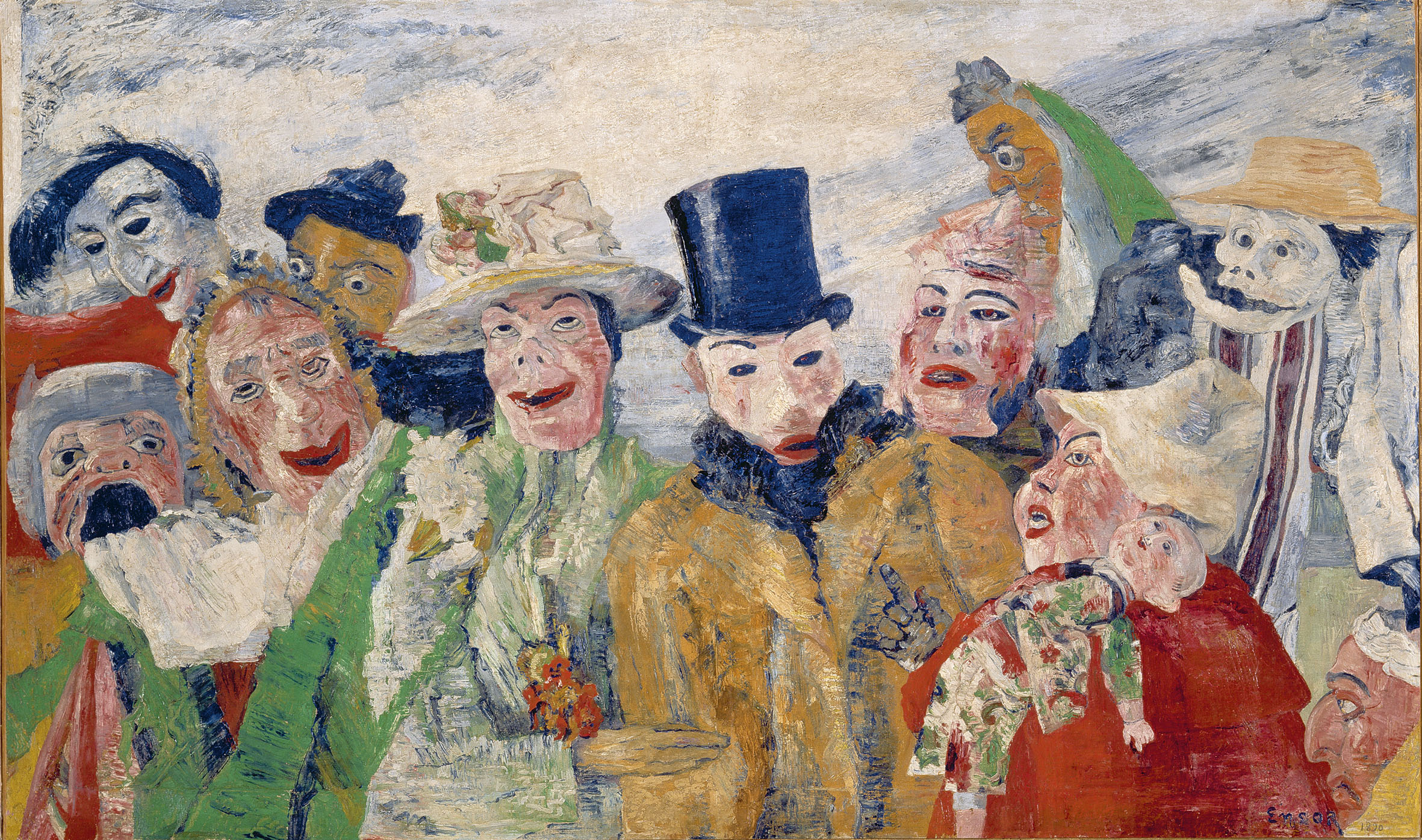 The Intrigue, 1890 — James Ensor