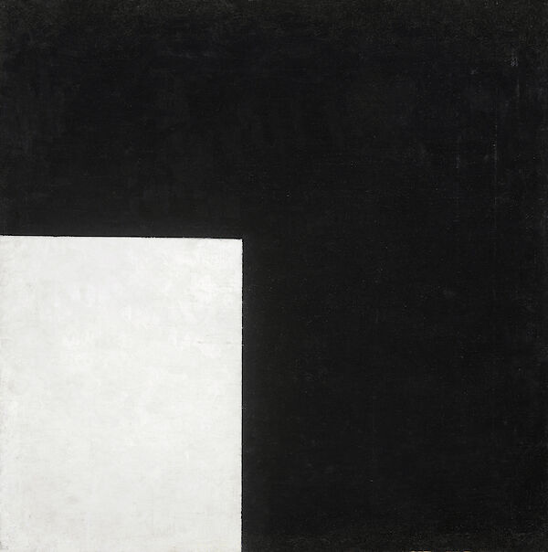 Black and White, Suprematist Composition