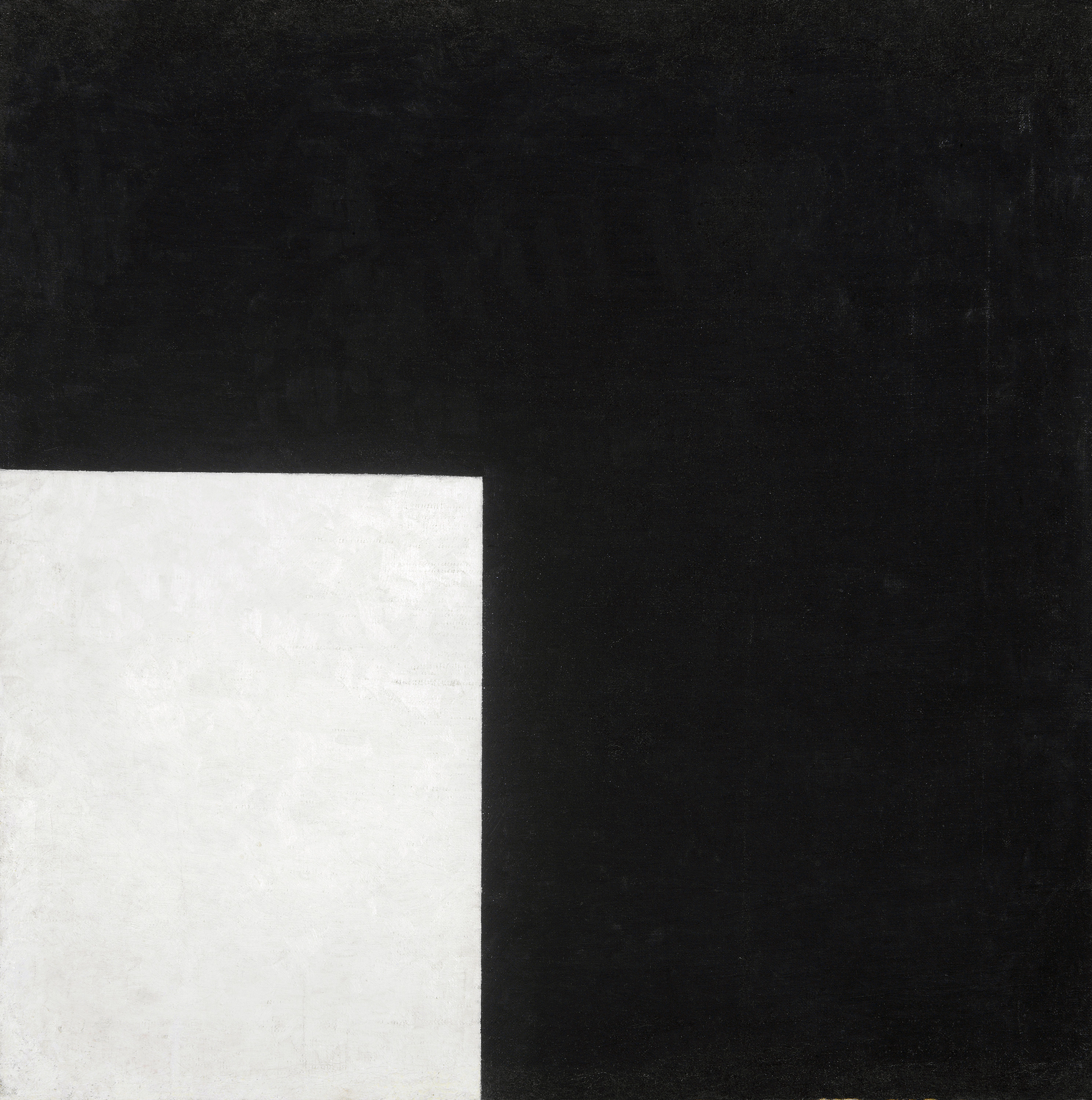 Black and White, Suprematist Composition, 1915 — Kazimir Malevich