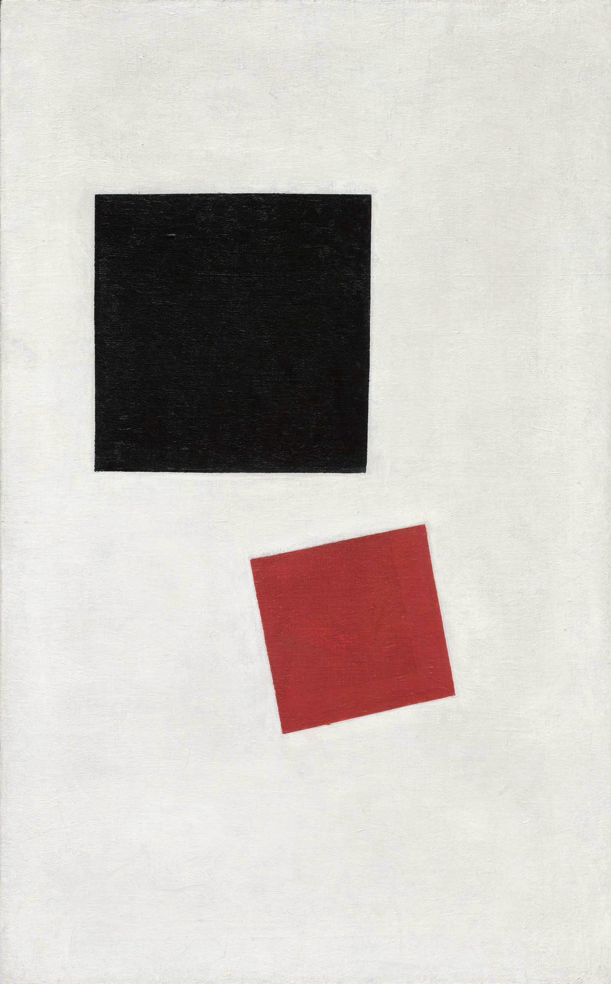 Black Square and Red Square, 1915 — Kazimir Malevich