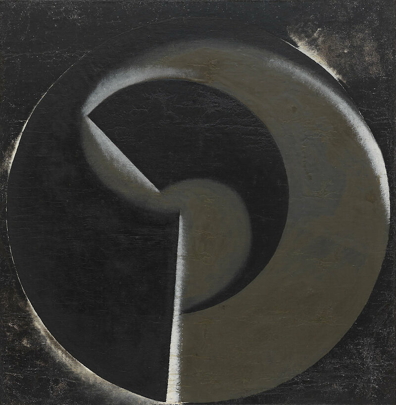 Non-Objective Painting no. 80 (Black on Black)
