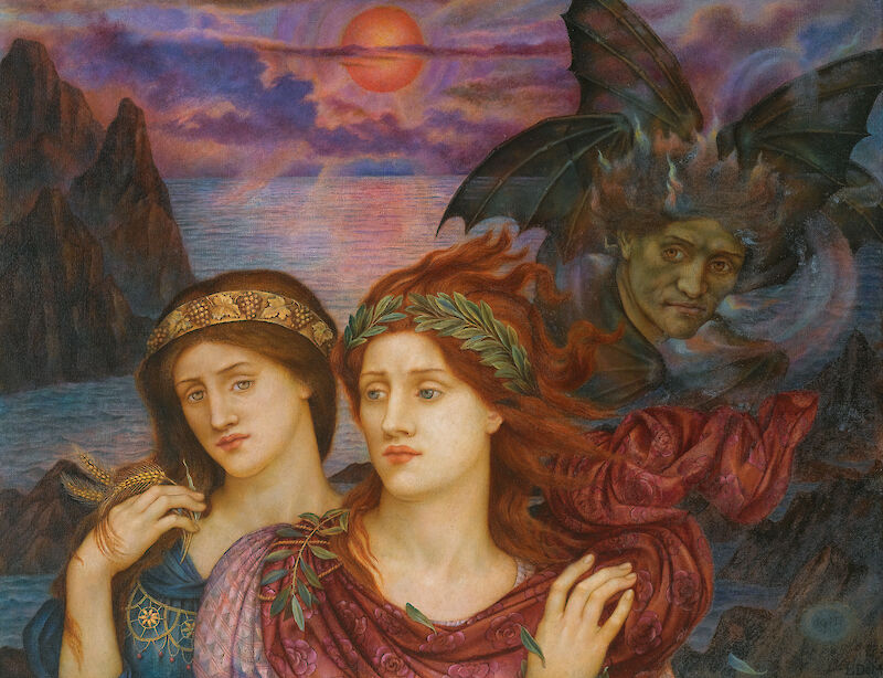 The Vision, 1914, Evelyn De Morgan