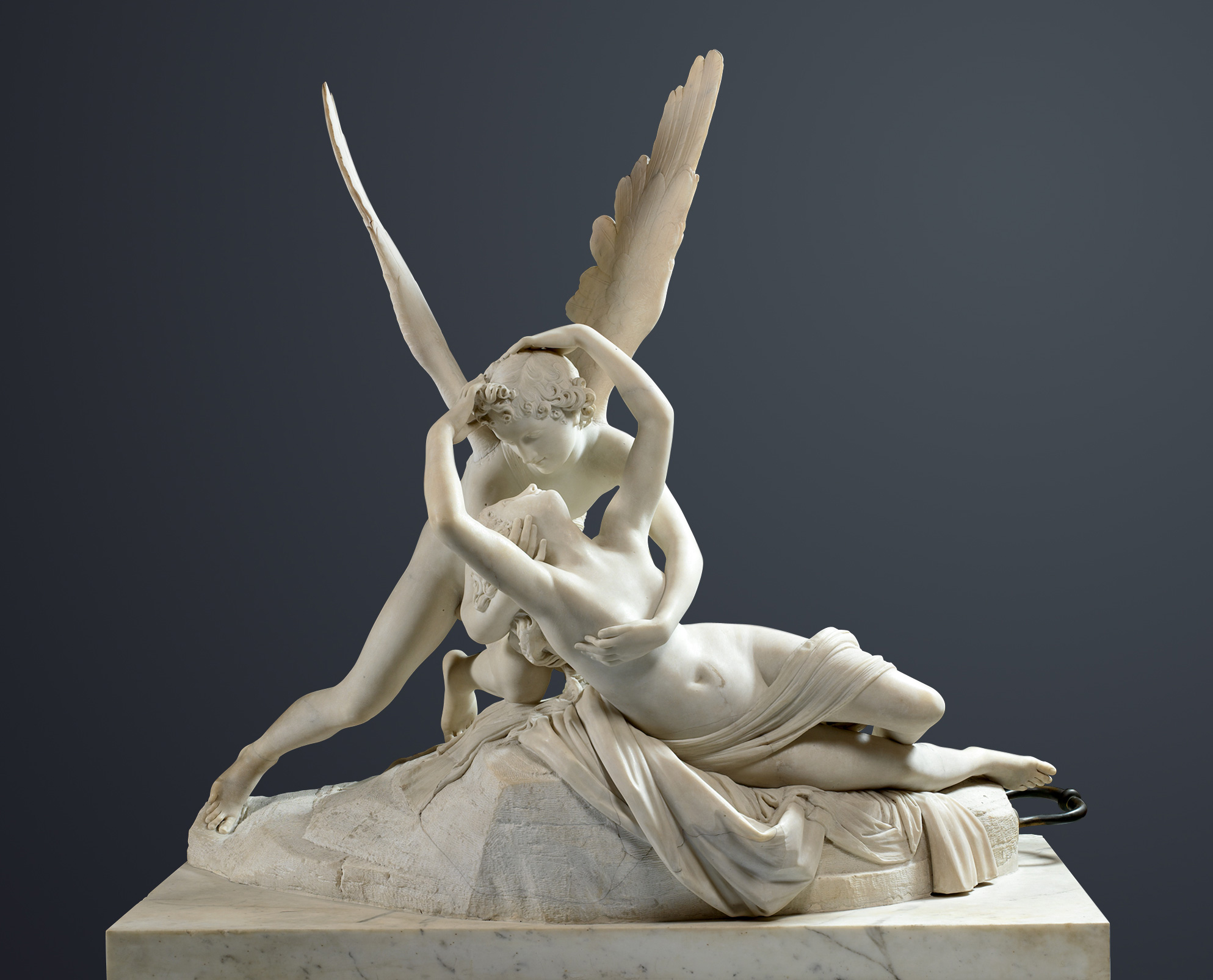 Psyche Revived by Cupid's Kiss, 1793 — Antonio Canova