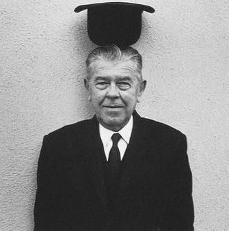 Portrait of René Magritte