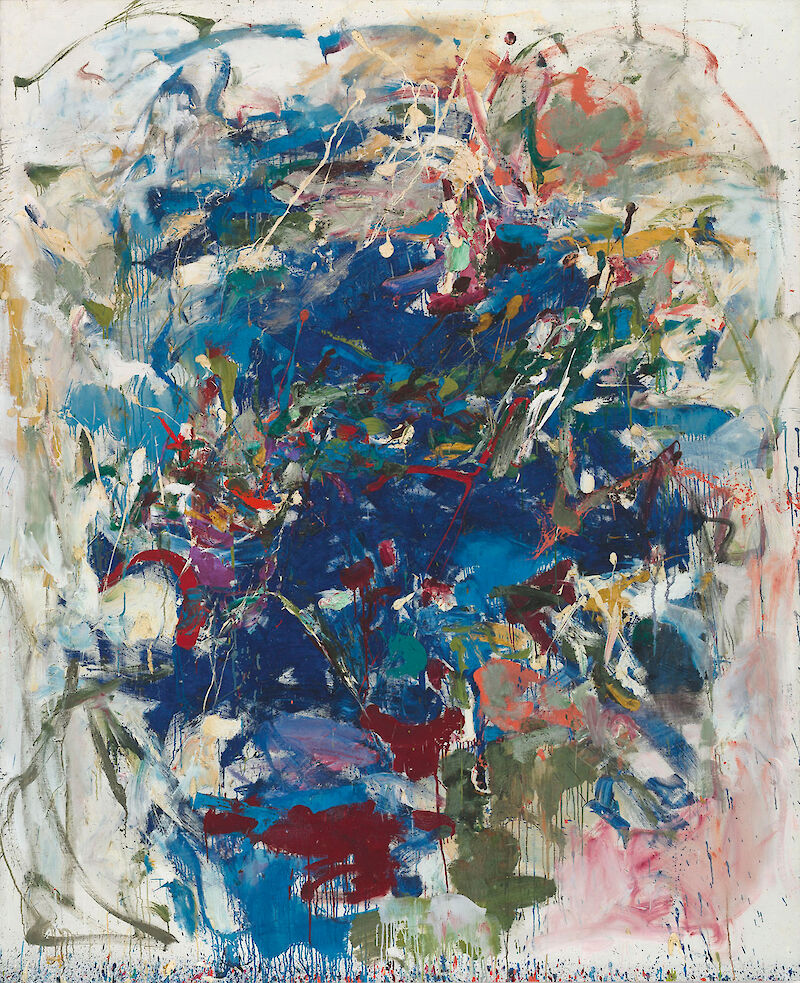 Portrait of Joan Mitchell