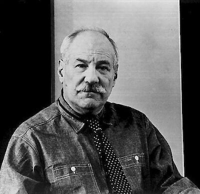 Portrait of Barnett Newman