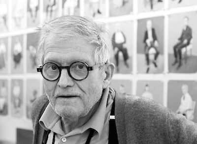 Portrait of David Hockney
