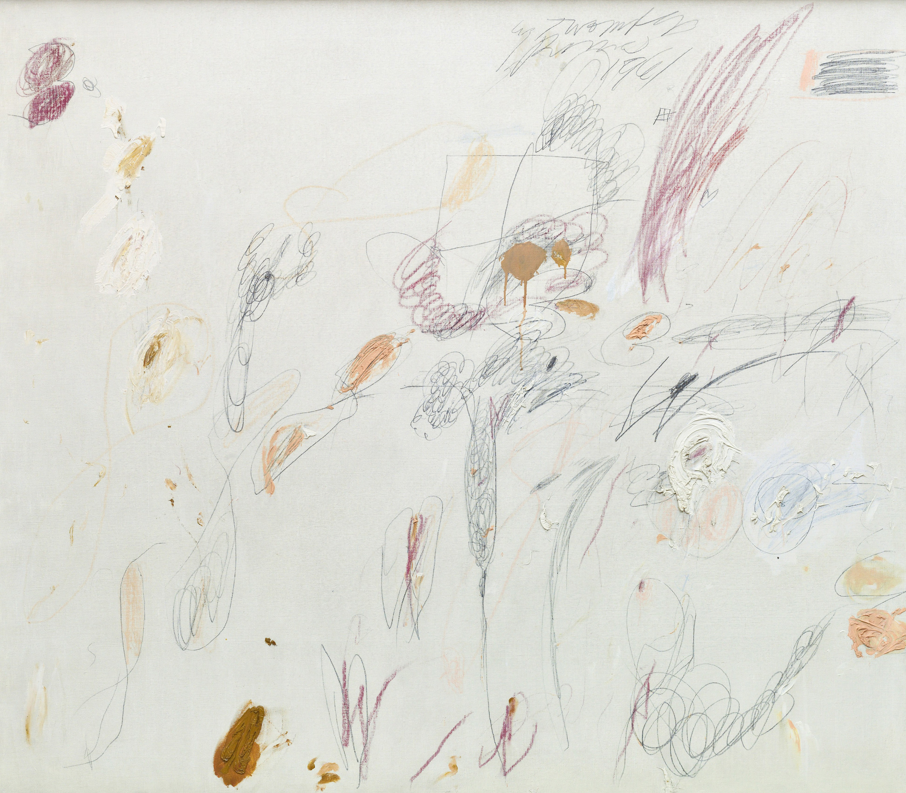 Untitled, 1961 — Cy Twombly,