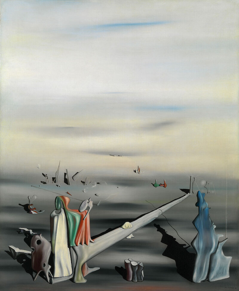 The Satin Tuning Fork, 1940, Yves Tanguy