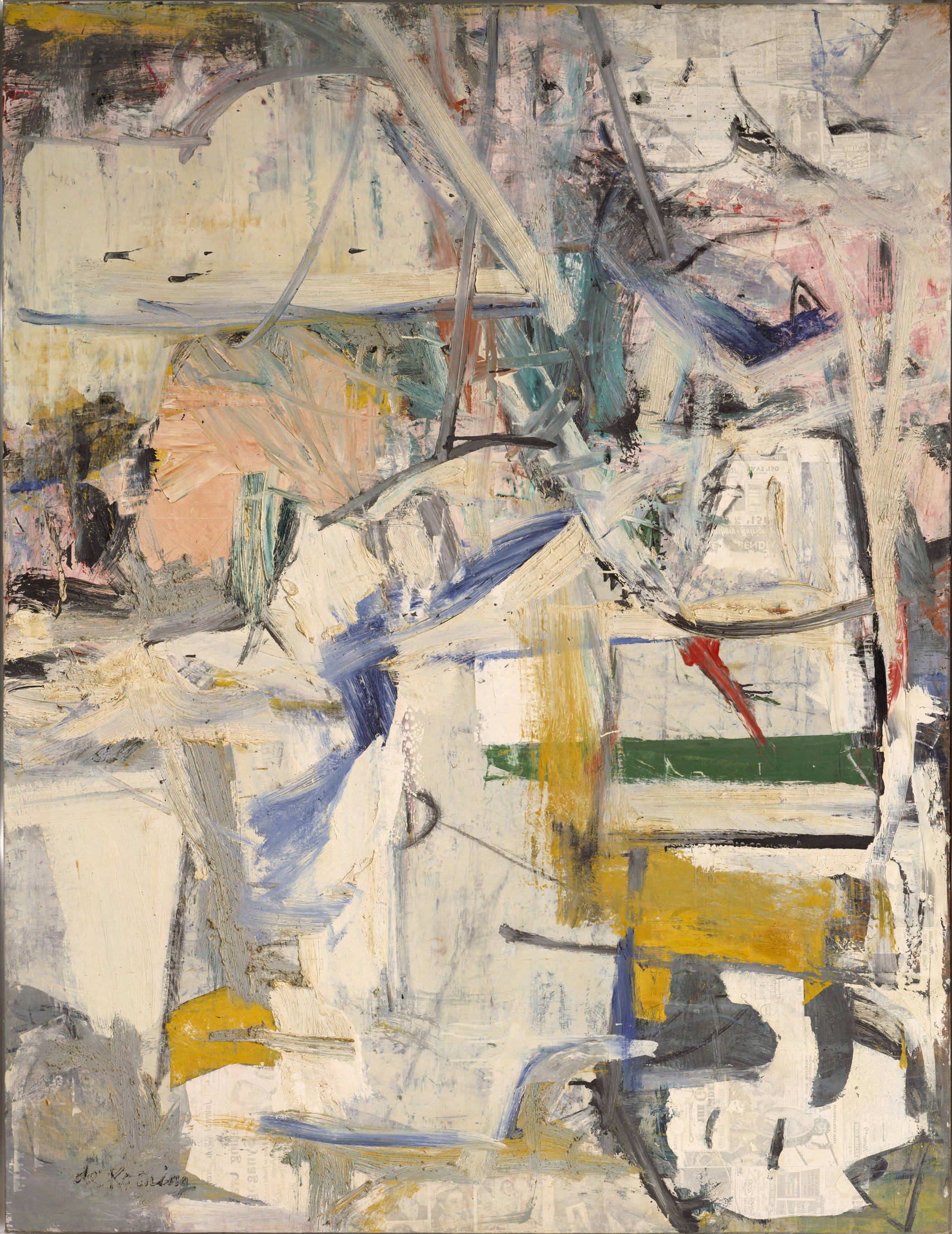 Easter Monday, 1956 — Willem de Kooning