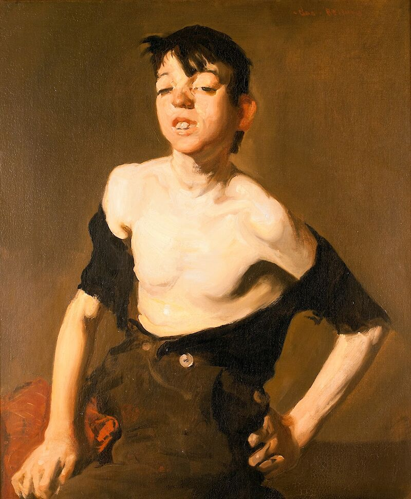 Paddy Flannigan, 1908, George Bellows