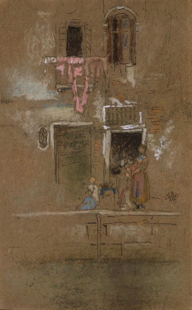 Note in Pink and Brown, 1880, James McNeill Whistler
