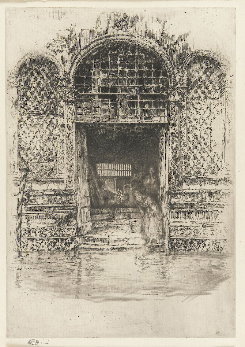The Doorway, 1880, James McNeill Whistler