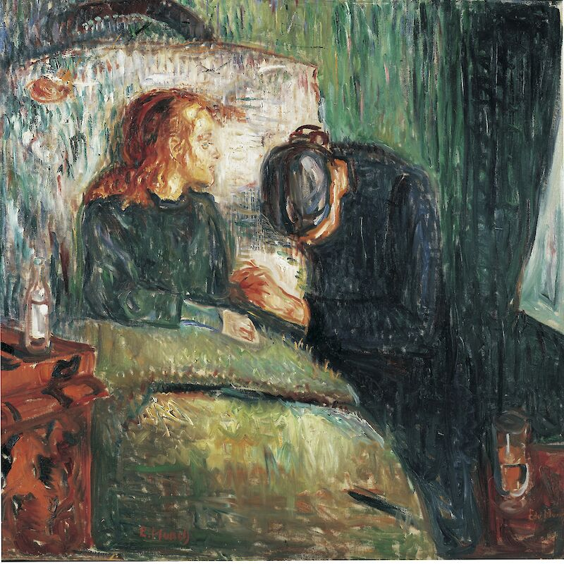 The Sick Child, 1907, Edvard Munch