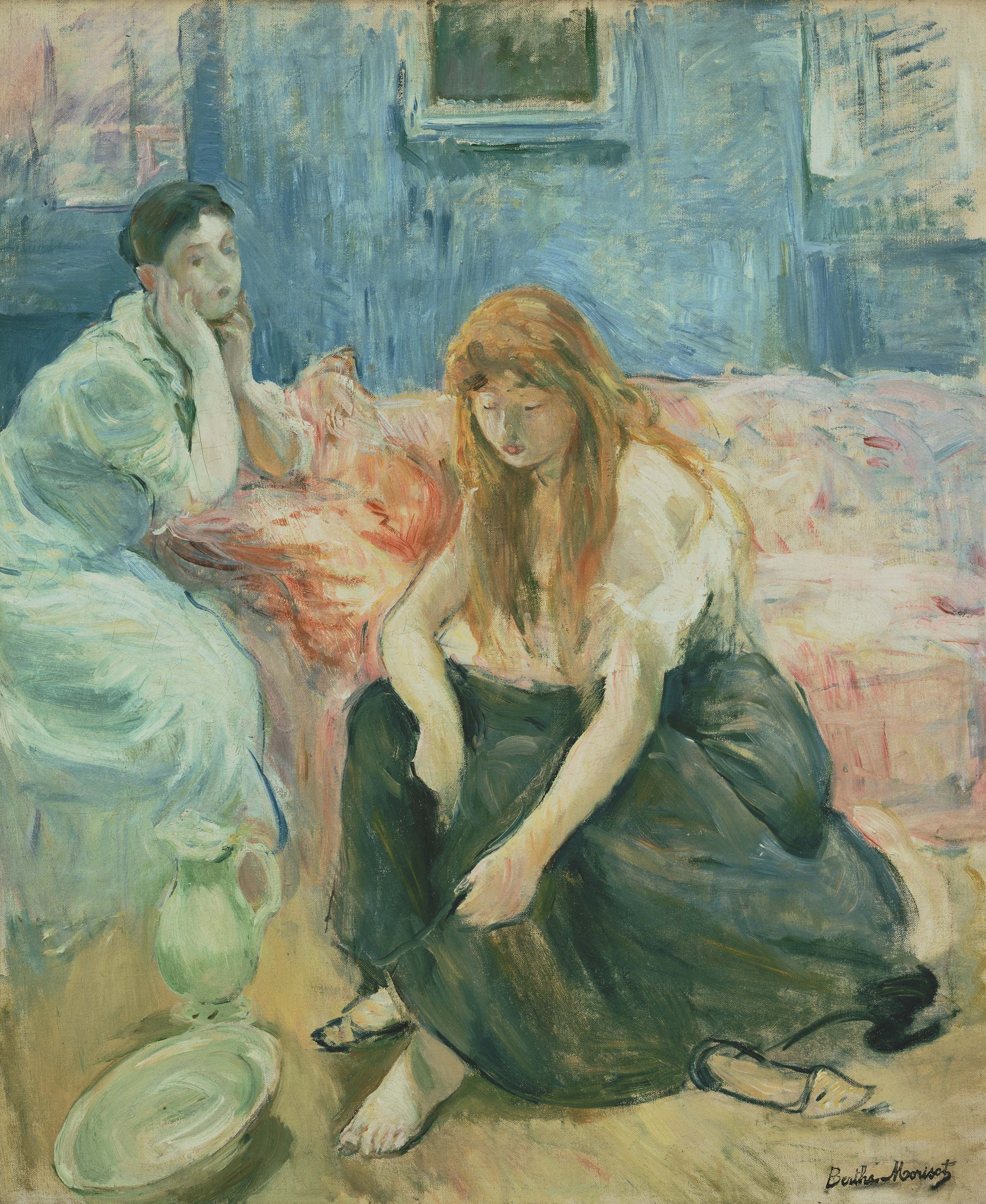 Two Girls, 1894 — Berthe Morisot