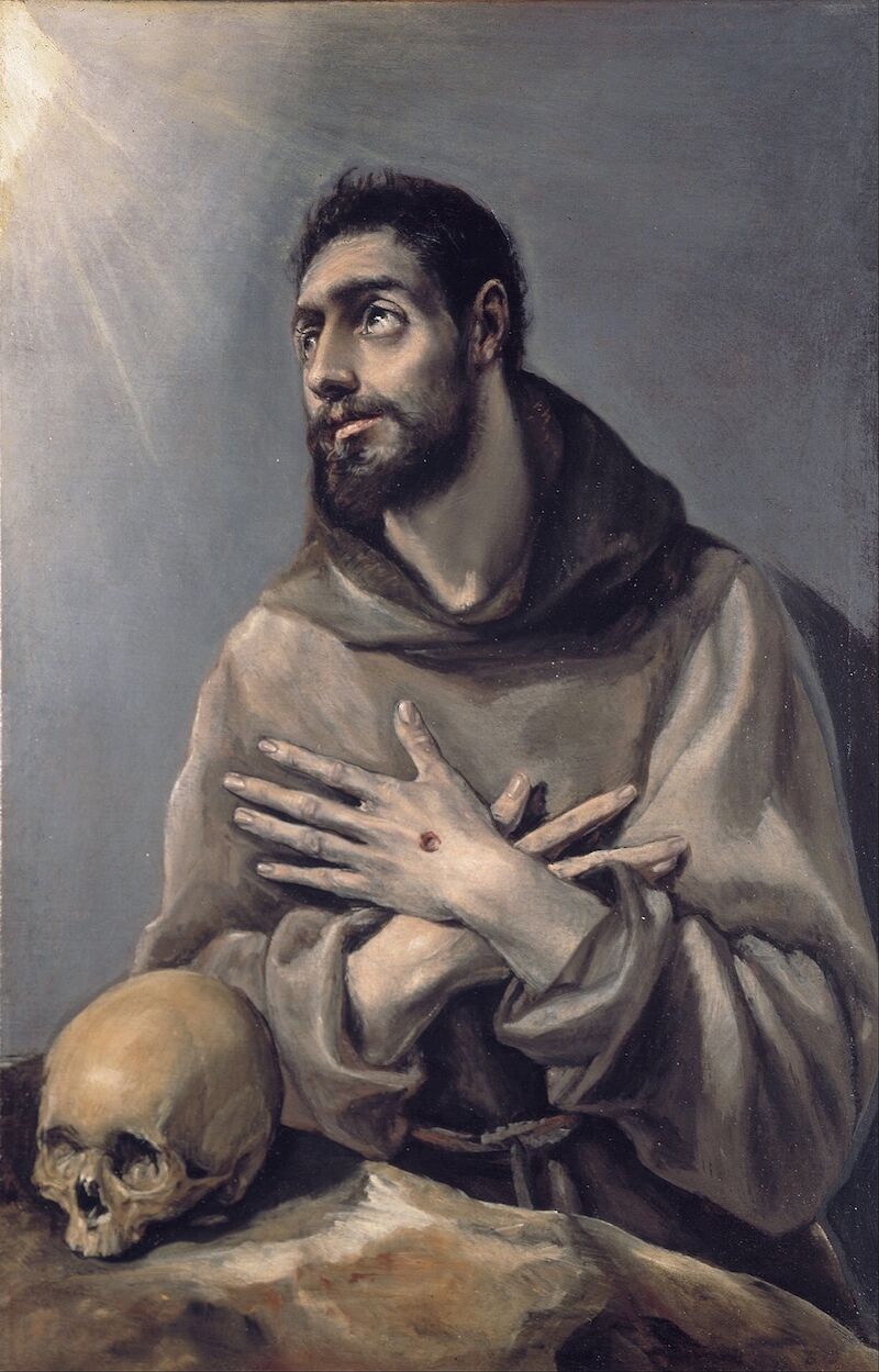 Saint Francis in Ecstasy