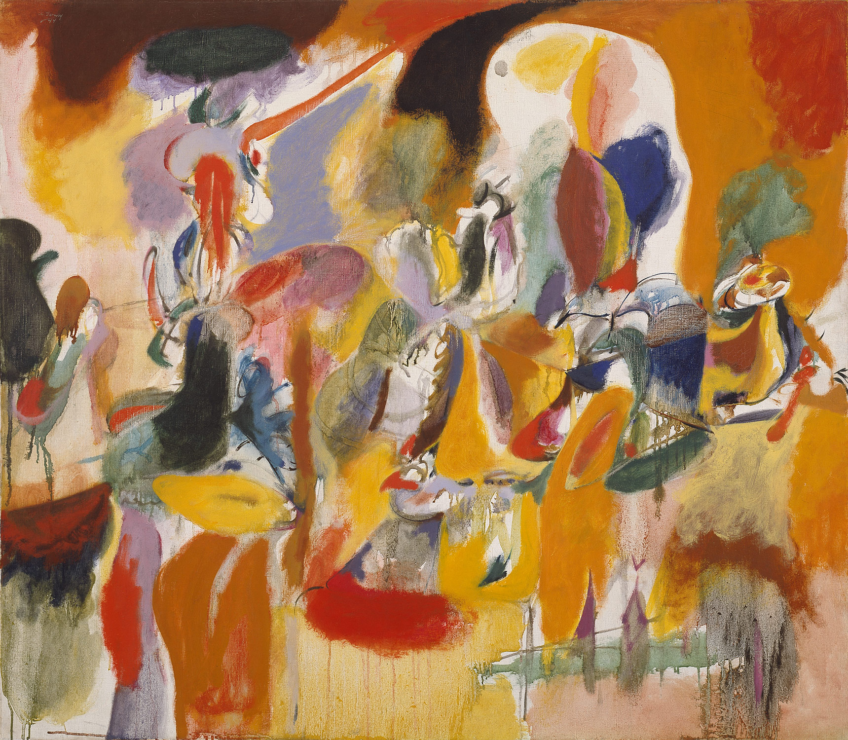 Water of the Flowery Mill, 1944 — Arshile Gorky,