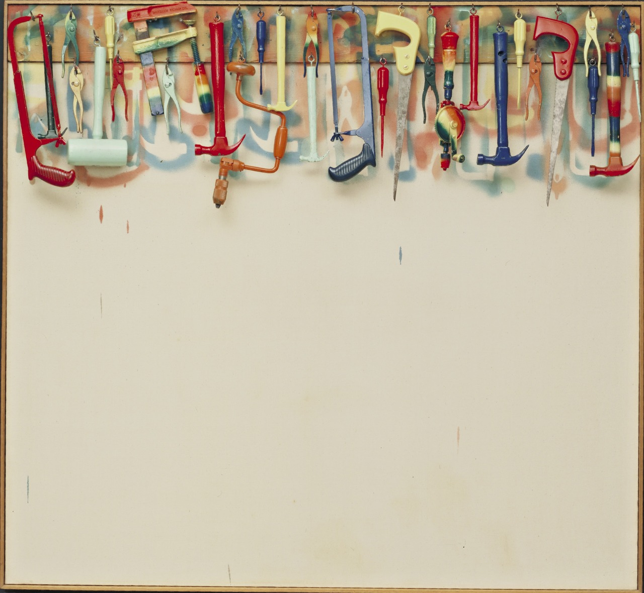 Five Feet of Colorful Tools, 1962 — Jim Dine,