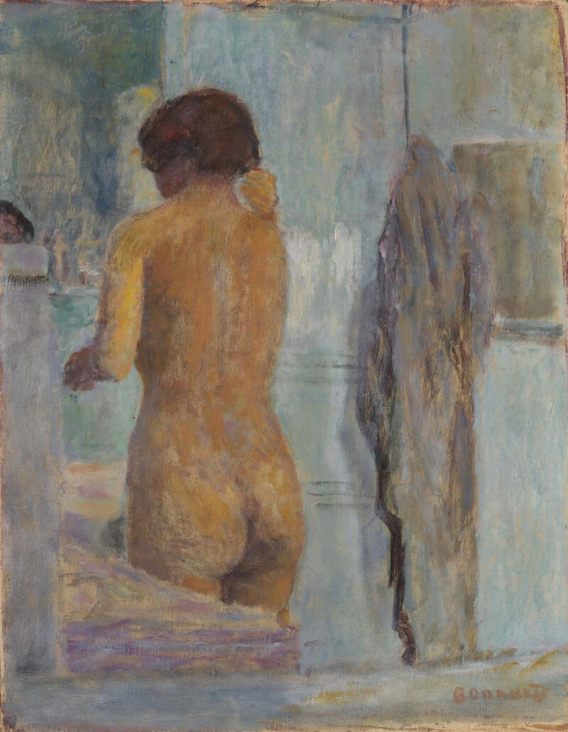 Bathing Woman, Seen from the Back