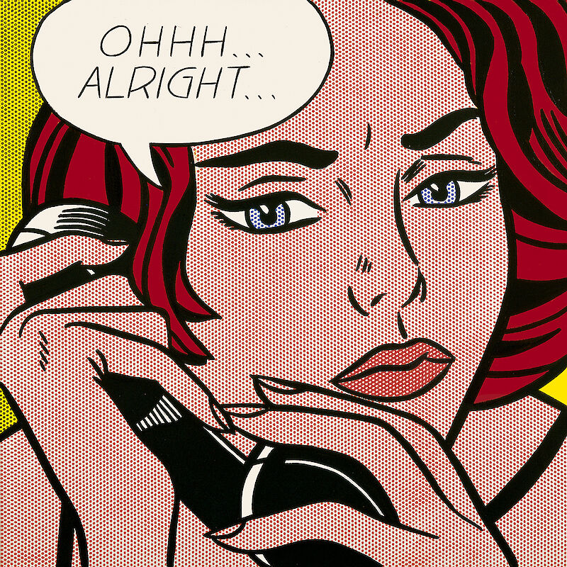 Ohhh...Alright..., 1964, Roy Lichtenstein