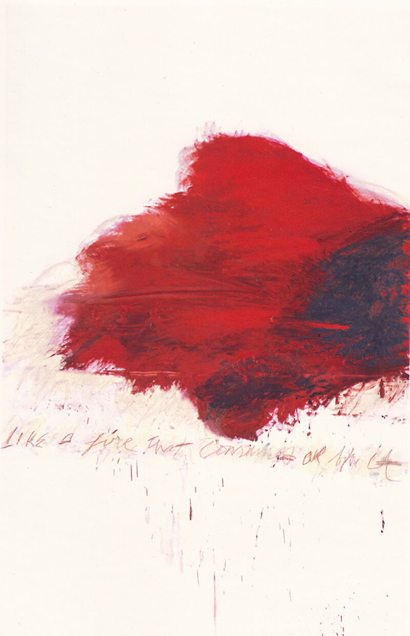 Fifty Days at Iliam: The Fire that Consumes All before It, 1978, Cy Twombly