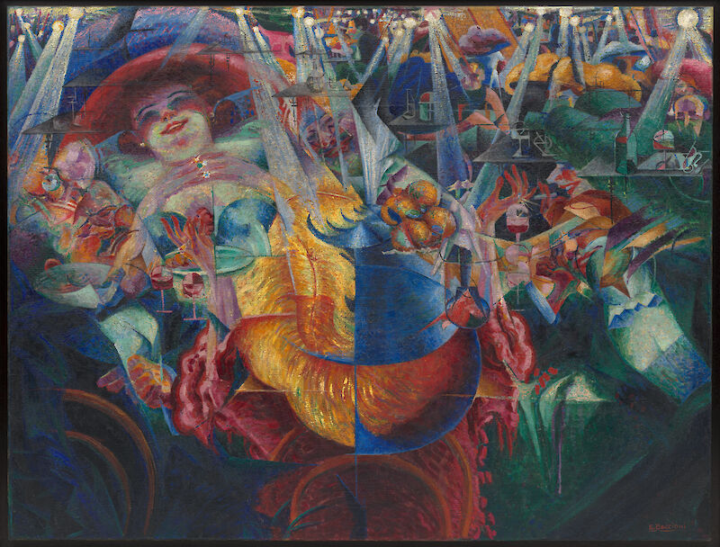 The Laugh, 1911, Umberto Boccioni