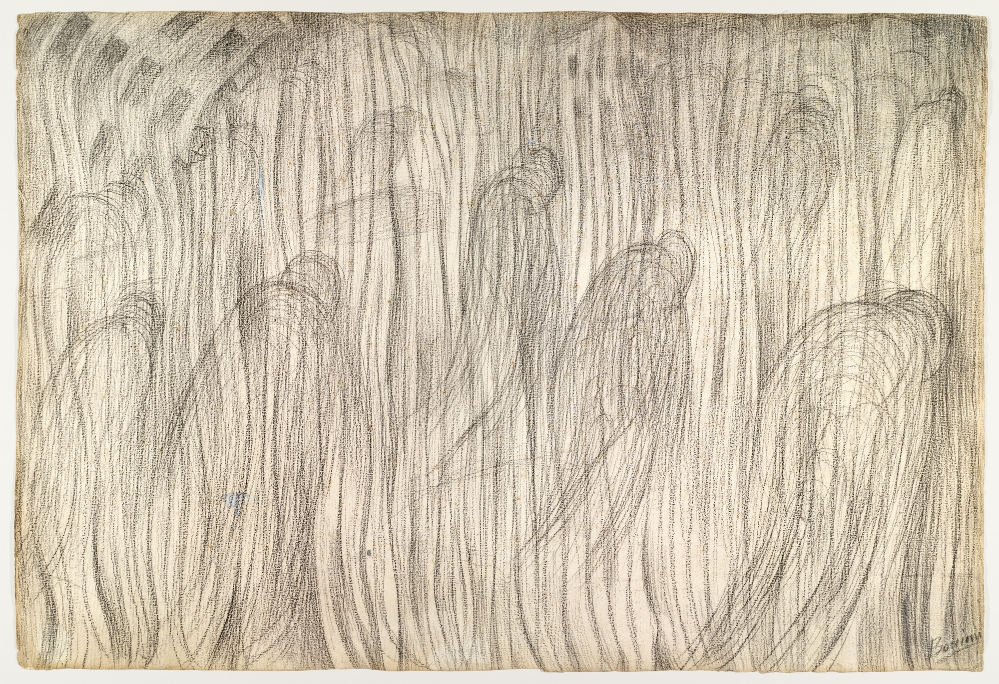 Sketch for States of Mind: Those Who Stay, 1911 — Umberto Boccioni