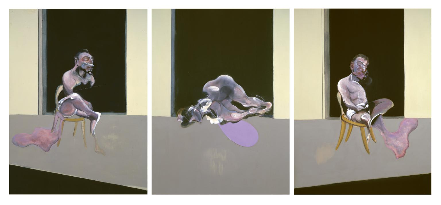 Triptych, August 1972, 1972 — Francis Bacon