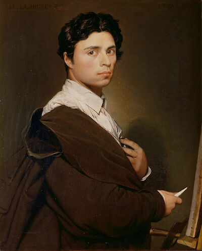 Portrait of Jean-Auguste-Dominique Ingres
