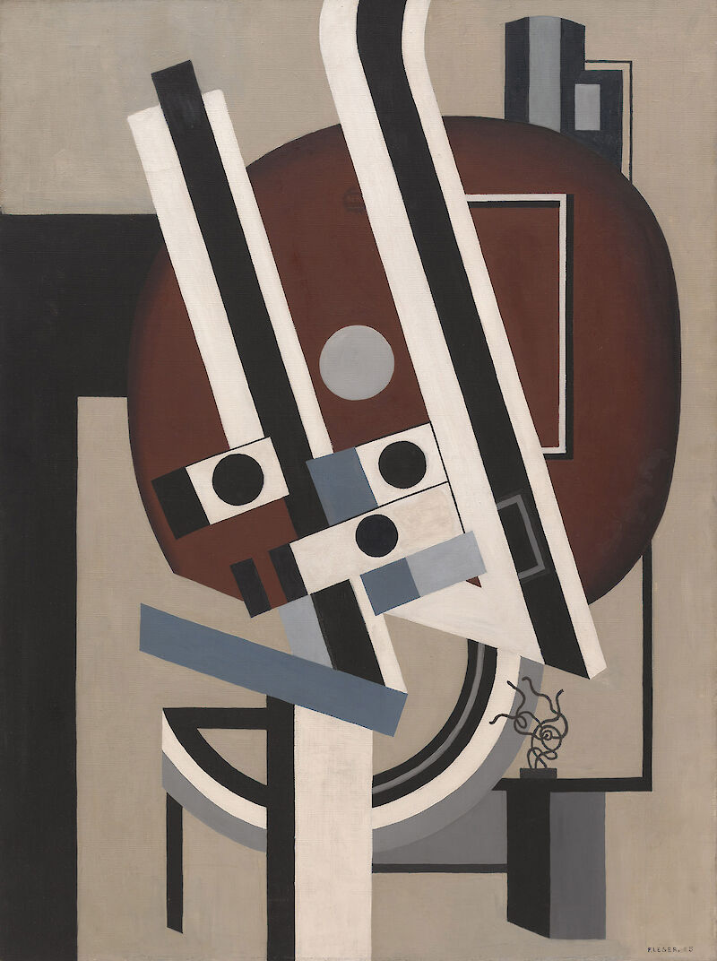 Composition (Definitive State), 1925, Fernand Henri Léger