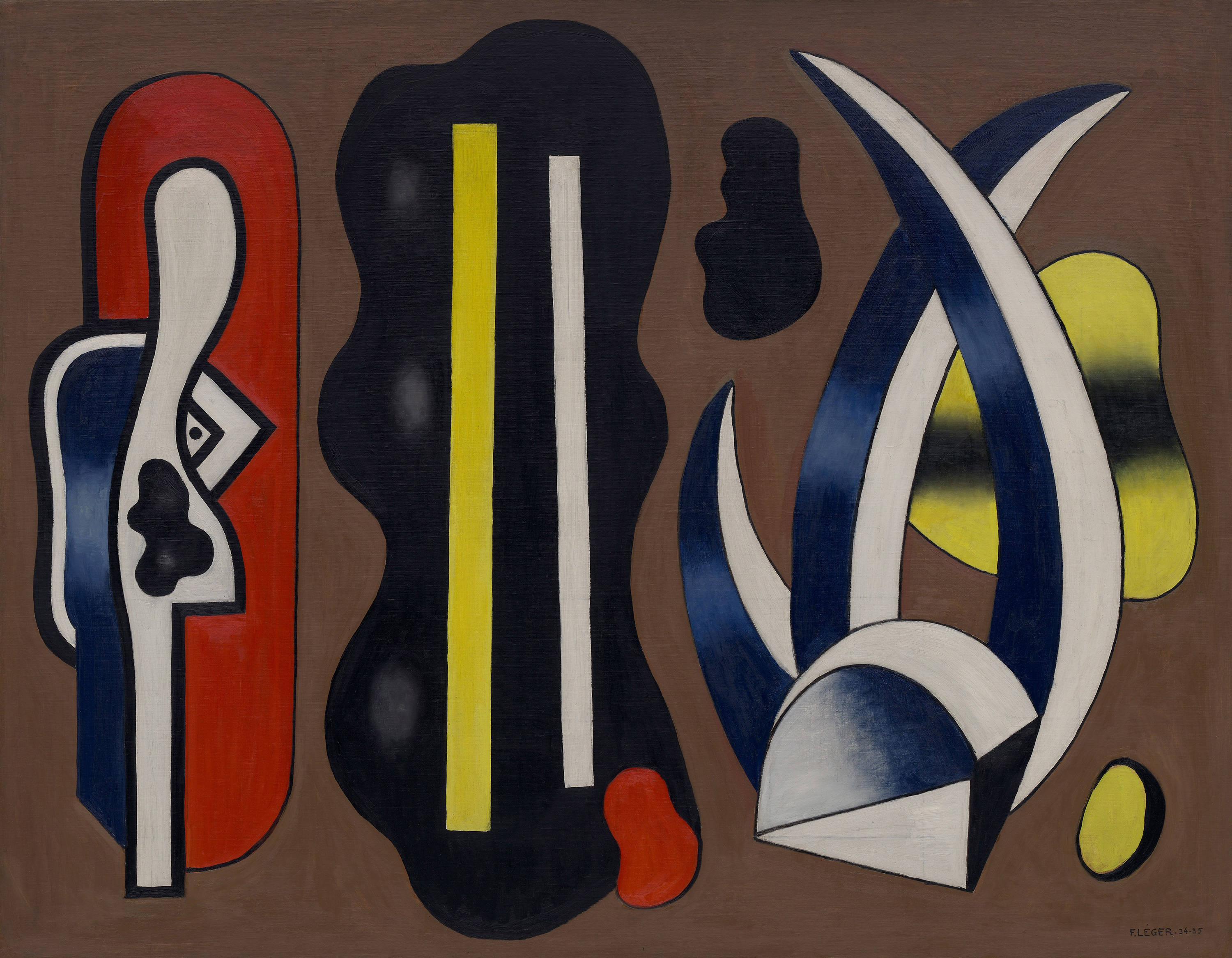 Composition with Aloes, No. 4, 1935 — Fernand Henri Léger