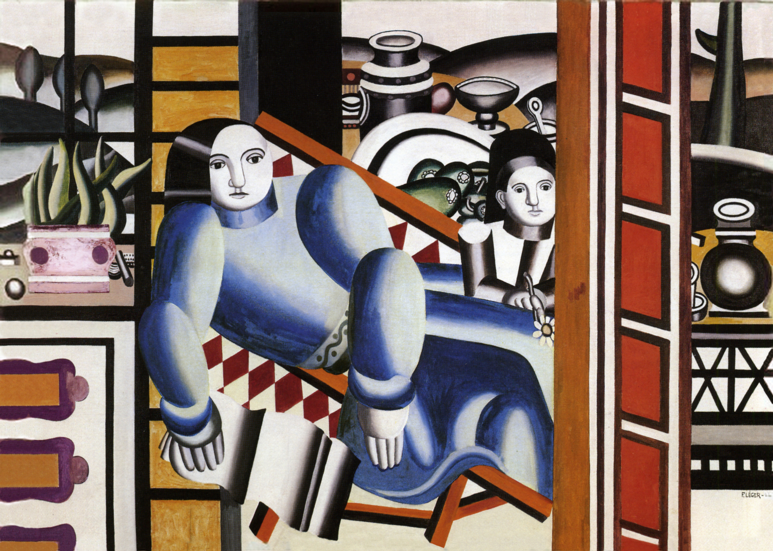 Mother and Child, 1922 — Fernand Henri Léger,