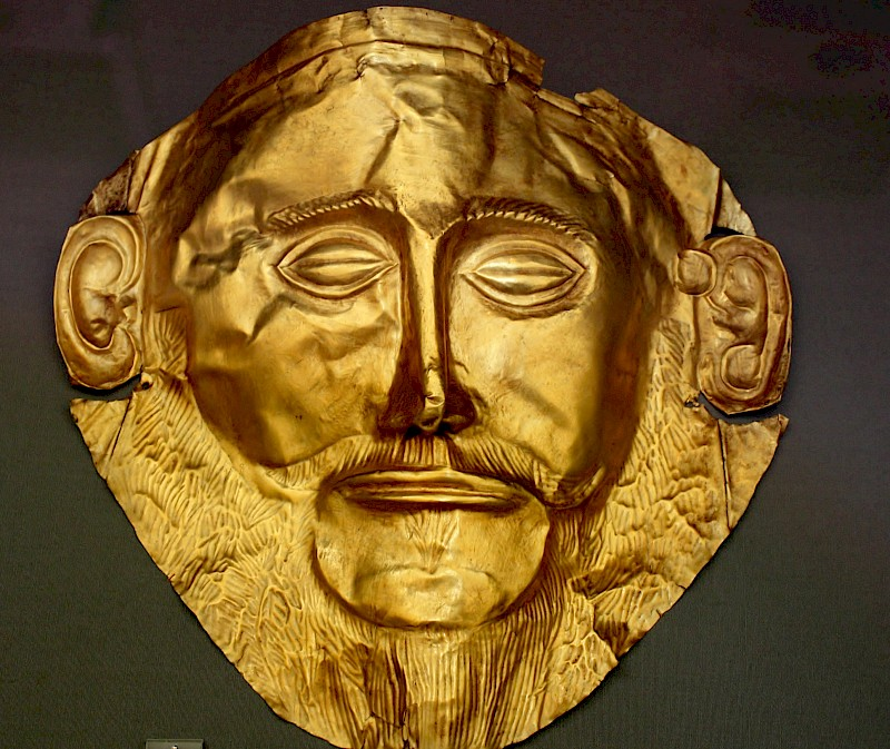The Mask of Agamemnon, additional view