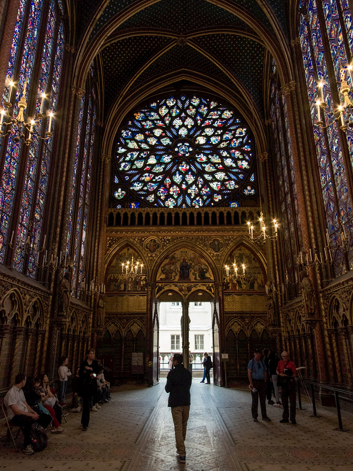 Sainte-Chapelle, additional view