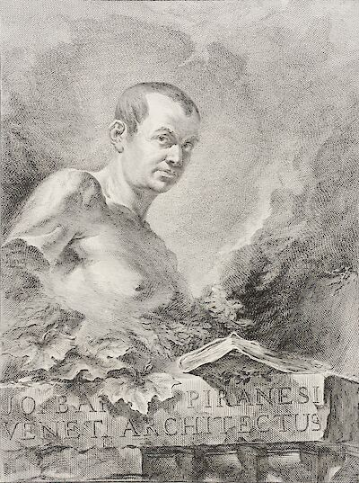 Portrait of Giovanni Battista Piranesi