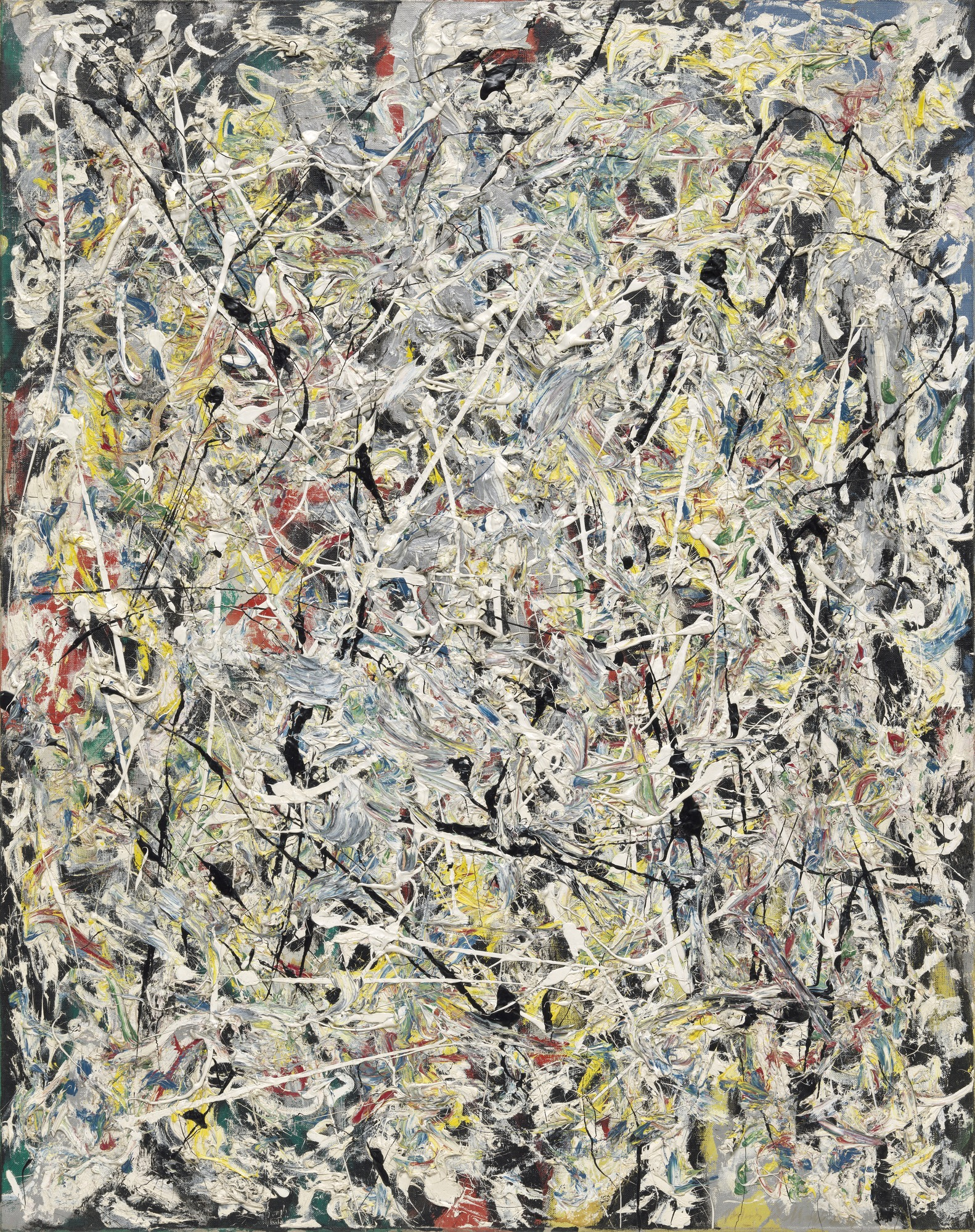 White Light, 1954 — Jackson Pollock