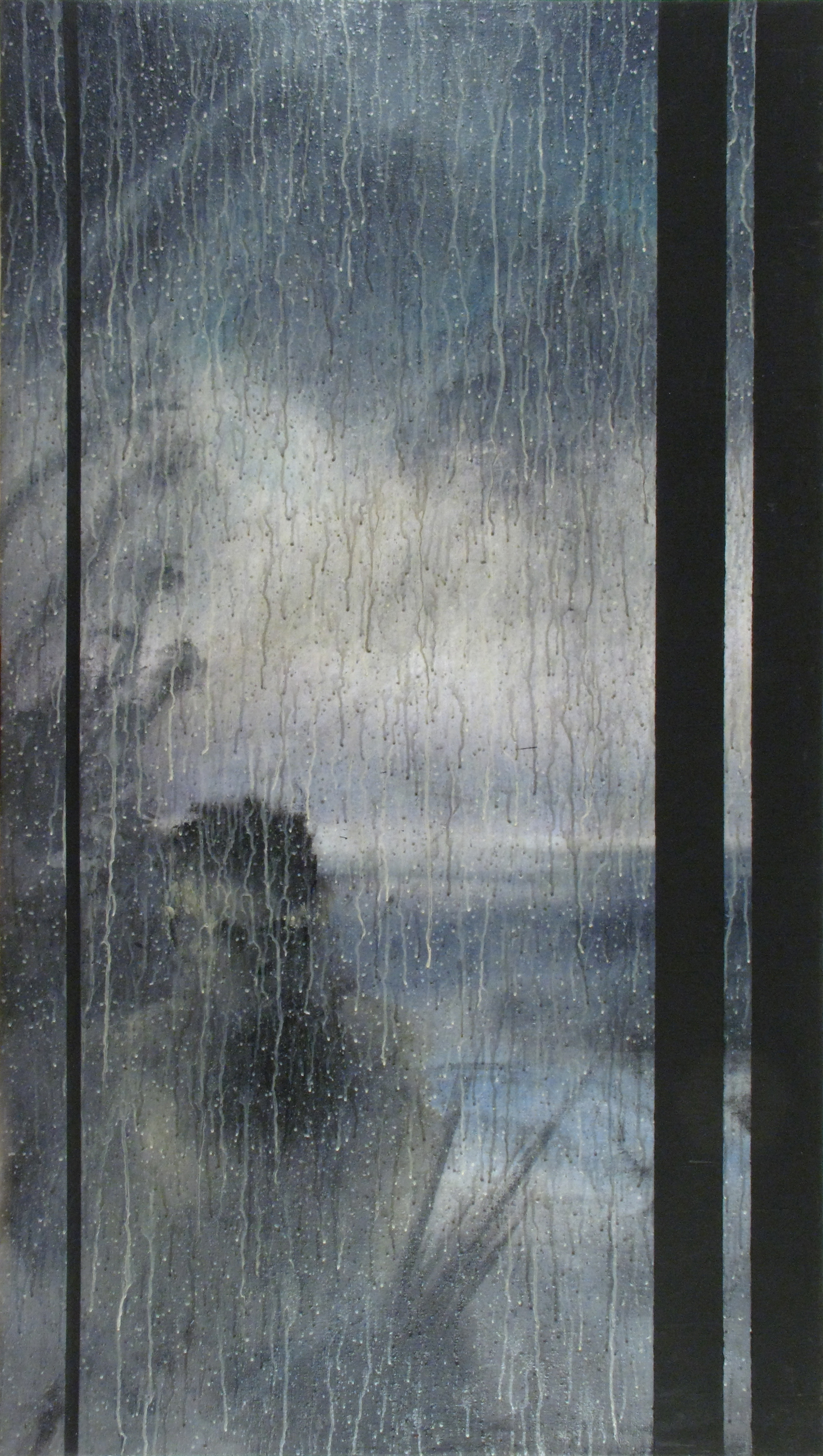 Rain, 1985 — Richard Hambleton
