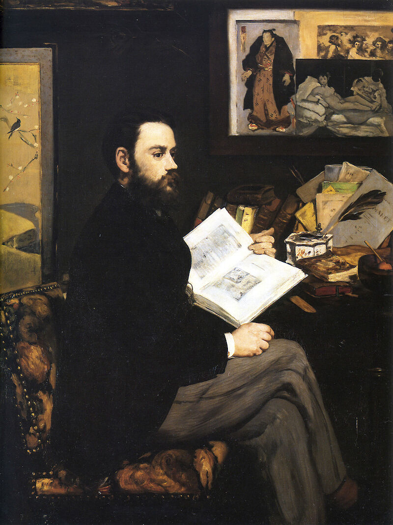 Portrait of Émile Zola