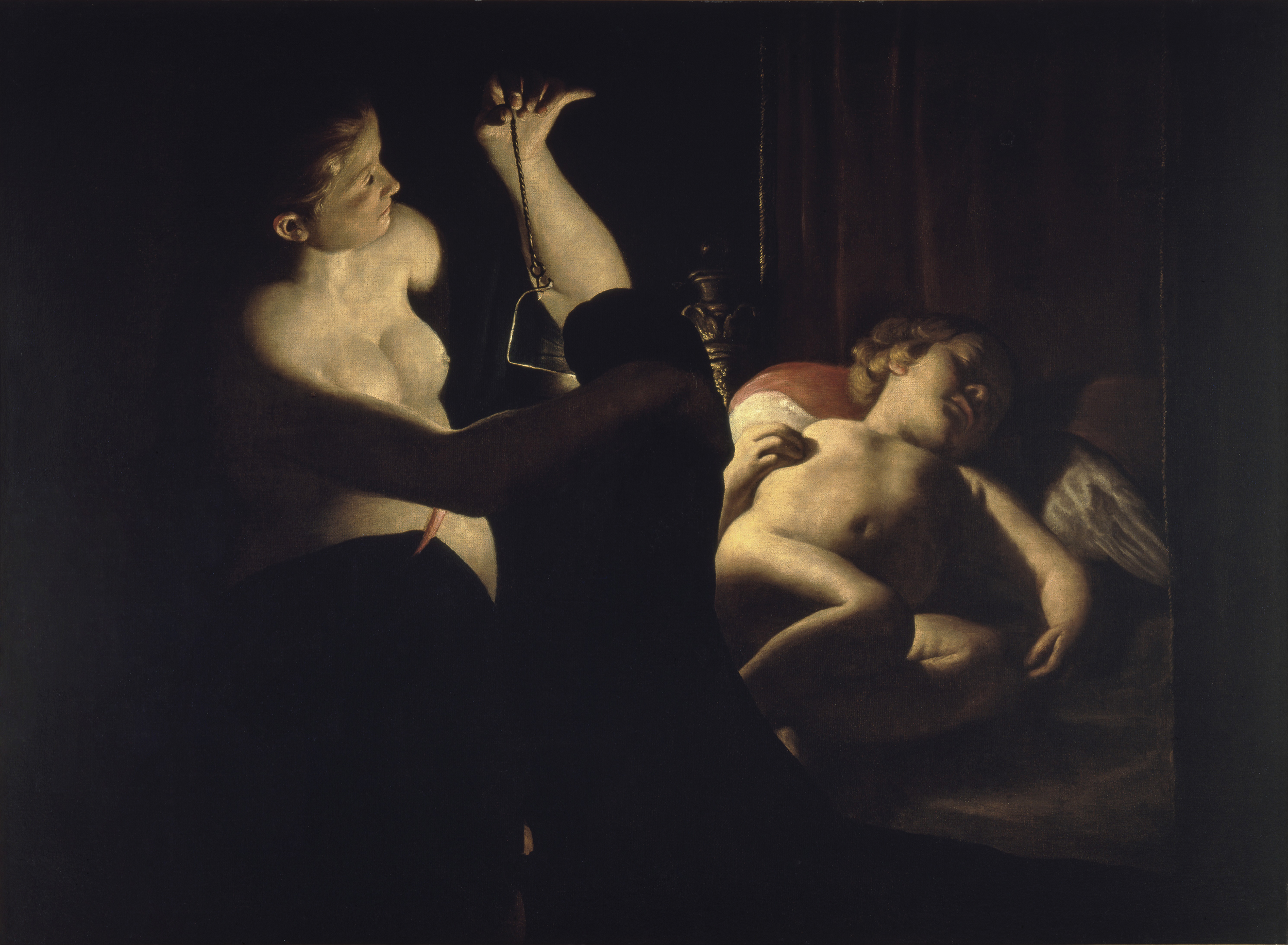 Cupid and Psyche, 1642 — Trophime Bigot
